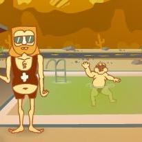 Lifeguard Larry Deluxe
