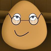 Pou Wearing Glasses