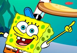 Bob Esponja Pizza Toss