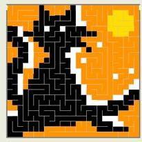 Maze-a-Pix Light