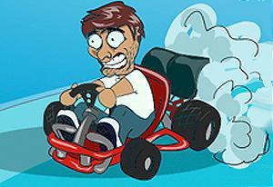 Super Baldy Kart