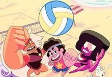 Steven Universe: Ciudad Playa Voleyball GP