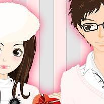 Valentine's Day Dress Up Game