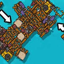 Craft Raft Battle
