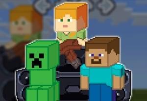 Friday Night Funkin' Minecraft Creeper vs Steve