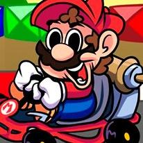 Friday Night Funkin' vs Super Mario Kart