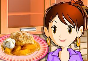 Sara s Cooking Class: Peach Cobbler
