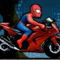 Spiderman: Spiderbike Racing